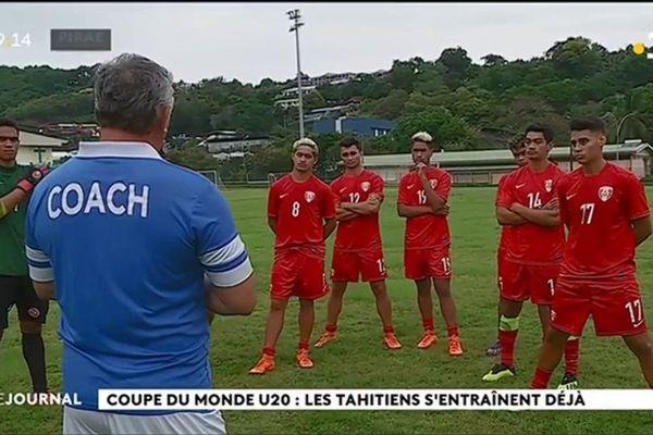 Les moins de 20 ans se préparent pour la Coupe du monde en Pologne