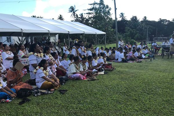 Messe d'ouverture du grand rassemblement des jeunes de Wallis et Futuna