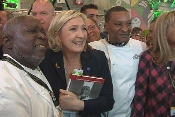 Marine Le Pen au Salon de l'agriculture