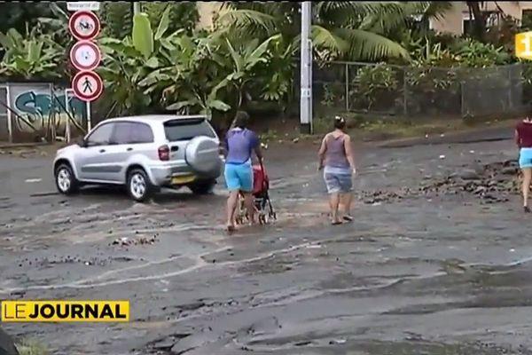 Les stigmates des inondations subsistent à Heiri