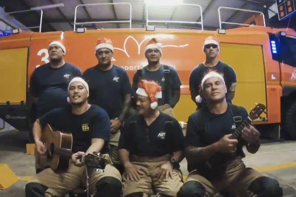 pompiers de l'aéroport de Faa'a
