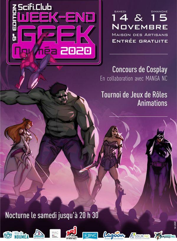 Affiche Geek 2020