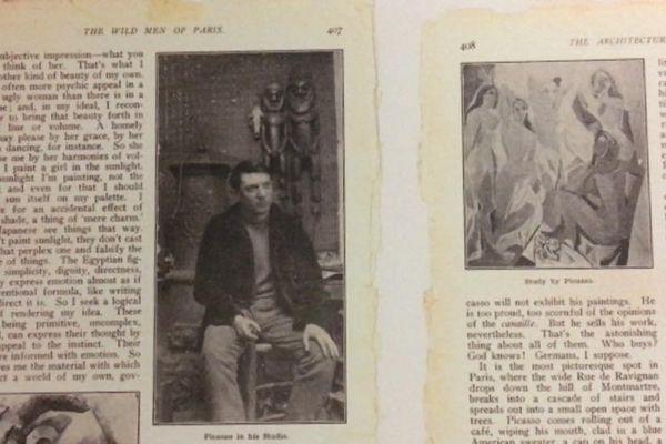 """Article """"The wild men of Paris"""""""