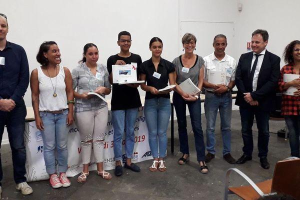 Les collégiens primés au concours national BTP