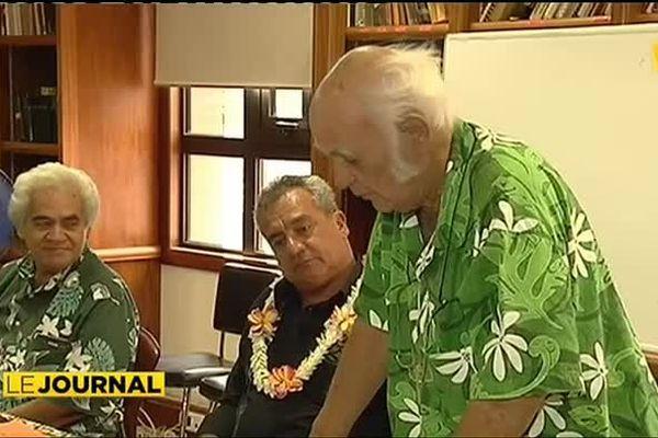 L'académie tahitienne reçoit le futur ministre de la culture