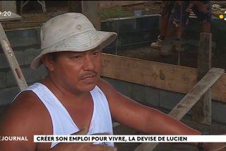 Lucien, artisan pisciniste de la presqu'île
