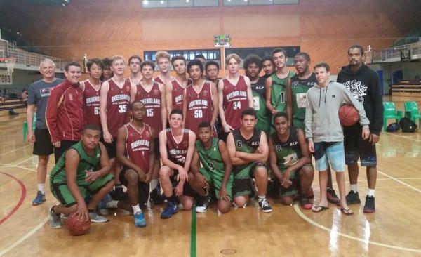 Photo camp basket Païta Brisbane avril 2017