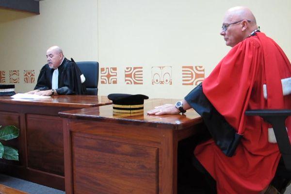 Rentrée judiciaire Marquises Nuku Hiva