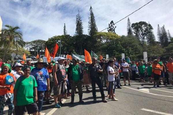 Marche Usoenc à Nouméa, 13 novembre 2020