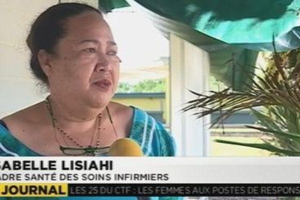 Isabelle Lisiahi, cadre de santé soins infirmiers