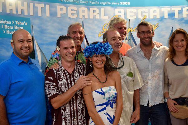 Tahiti Pearl Regatta Voiles de St Tropez