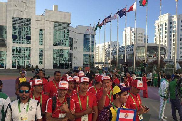 Equipe tahitienne de Muay Thai au Turkménistan