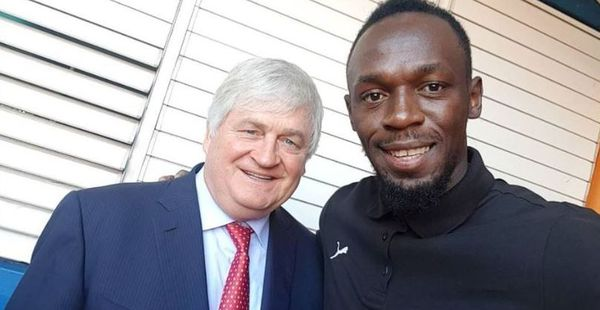 Denis O'Brien /Usain Bolt