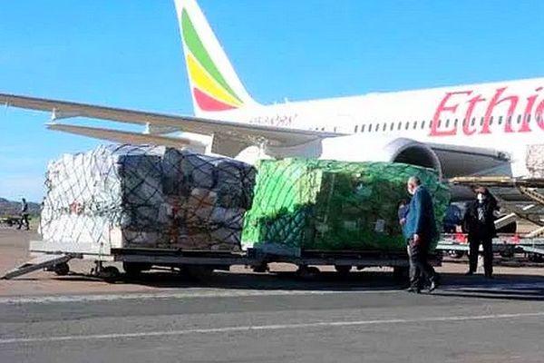 Livraison de matériel crise covid-19 juillet 2020 Madagascar