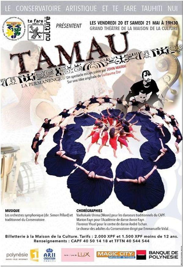 Affiche Tamau