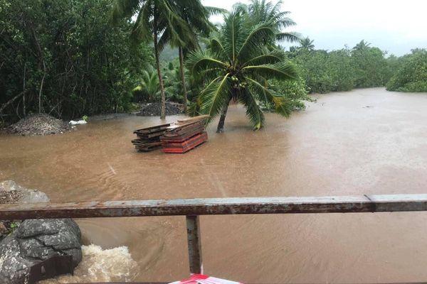 inondations Moorea