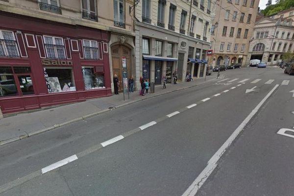Accident nonagénaire Lyon