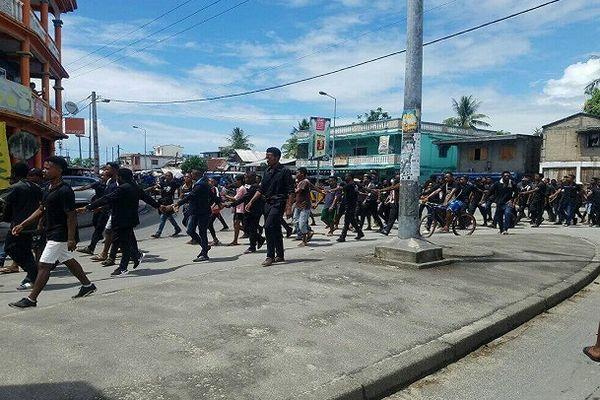 marche des étudiants Madagascar 22 février 2021