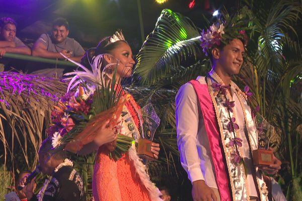 Heireiti Gooding et Harcher Pere sont respectivement Miss et Mister Paea 2019