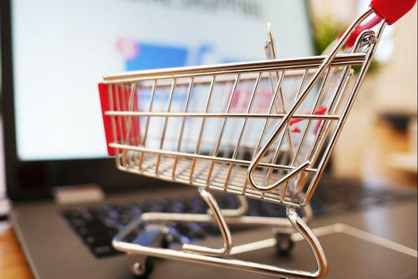 Chariot pour courses en ligne