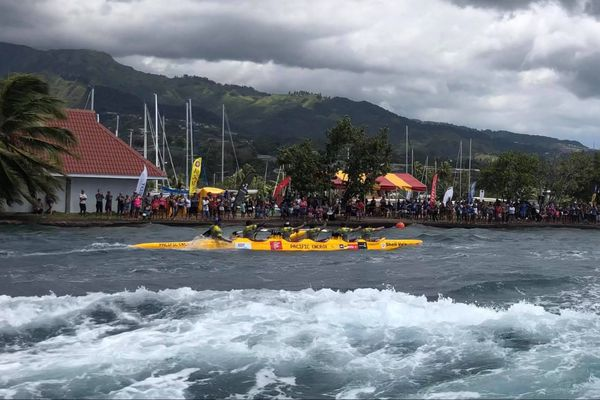 Shell Va'a - Tetiaroa Royal Race 2018
