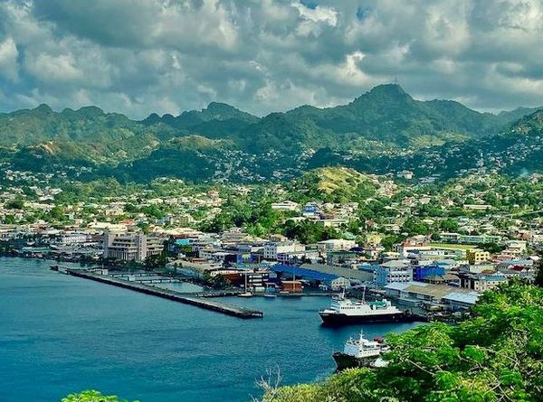 Kingstown, capitale de Saint Vincent et les Grenadines