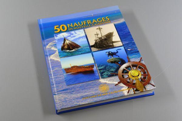 Livre 50 naufrages en Nouvelle-Calédonie