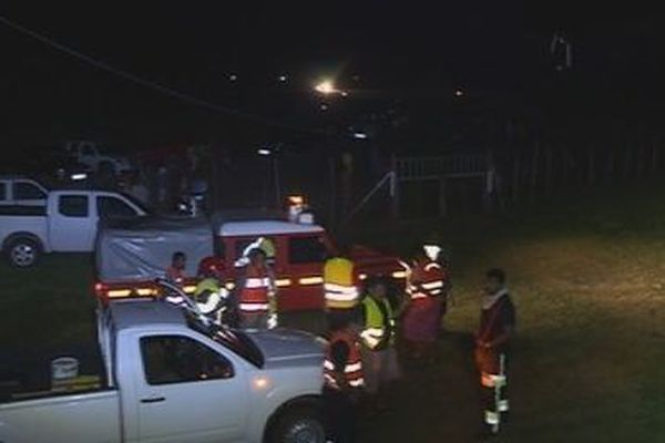 atterissage de nuit pour evasan à Futuna
