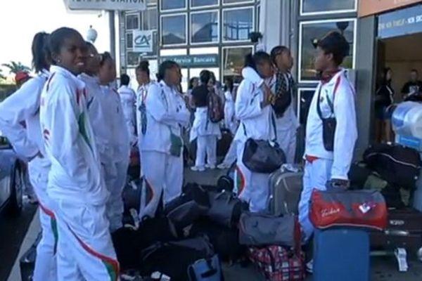Arrivée délégation malgache JIOI 2015