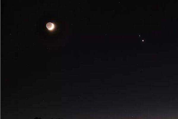 upiter et Saturne s'alignent