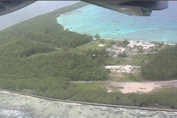 l'atoll de Moruroa
