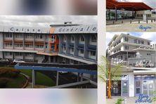 Différents bureaux et agences de la CGSS de Martinique.
