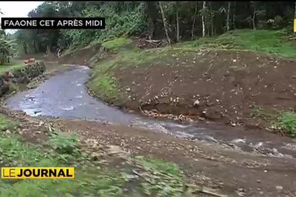 Manifestation pacifique : Te aru tai mareva dénonce les travaux dans les rivières