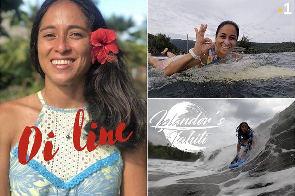 Oi line, la nouvelle présentatrice d'Islander's Tahiti