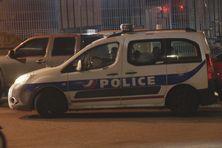 Voiture de police au Lamentin.