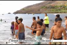 A Nuku Hiva, natation obligatoire avant d'entrer en 6e