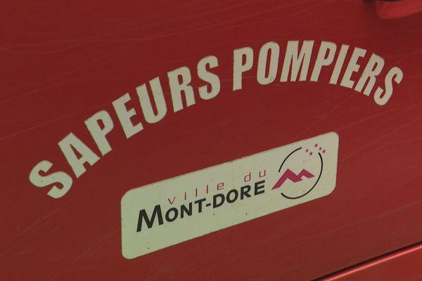 Plaque des pompiers du Mont-Dore