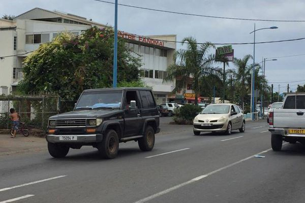 Embouteillage Faa'a
