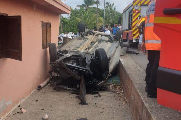 Accident mortel Baie-Mahault 19-07-2021