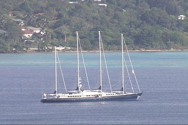 Le Phocéa à Port-Vila (NC 1ère)