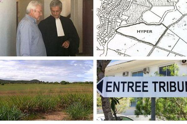 Harold Martin Justice terrains de Païta