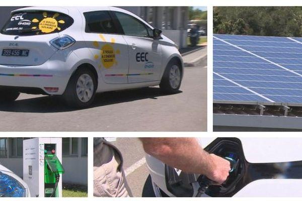 La voiture électrique 100% solaire