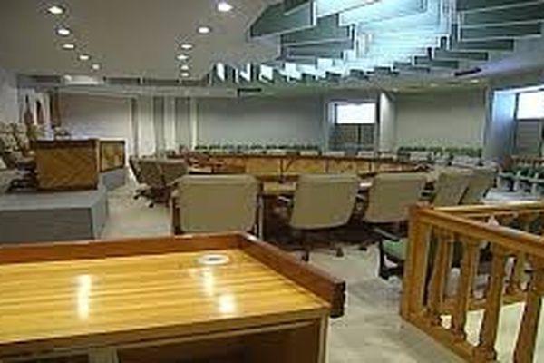 Hémicycle de l'assemblée de la province nord