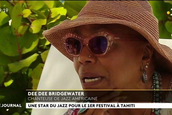 Dee Dee Bridgewater, tête d'affiche du  1er Tahiti soul jazz festival