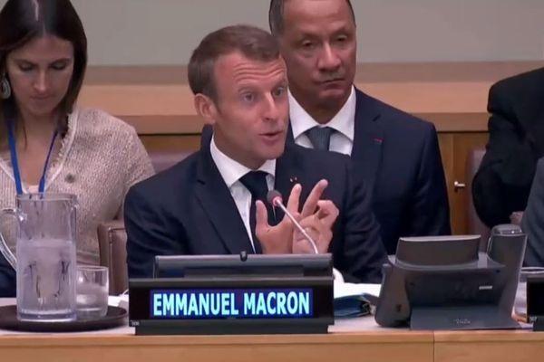Macron et Alexandre ONU