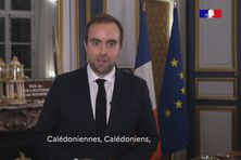 Le ministre s'adressait ce lundi soir «aux Calédoniennes et aux Calédoniens».