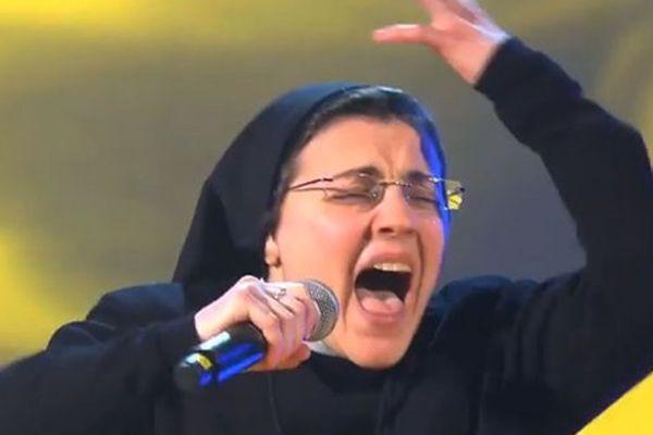 bonne soeur the voice italie