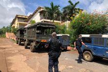Les gendarmes ont fait une démonstration de force ce matin à Koungou. La population et le maire souhaitent qu'ils restent le plus longtemps possible pour sécuriser le village.