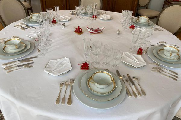 Un service banquet