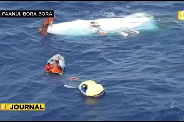 Dix naufragés sauvés au large de Maupiti